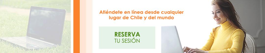 Atención en Línea desde cualquier parte de Chile