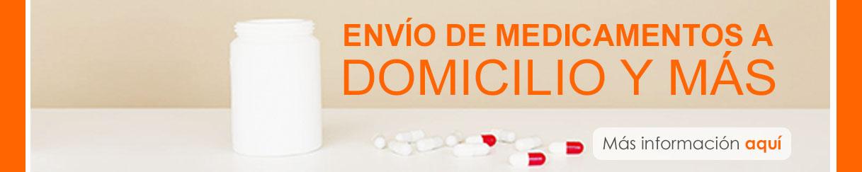 Envío de medicamentos a domicilio y más